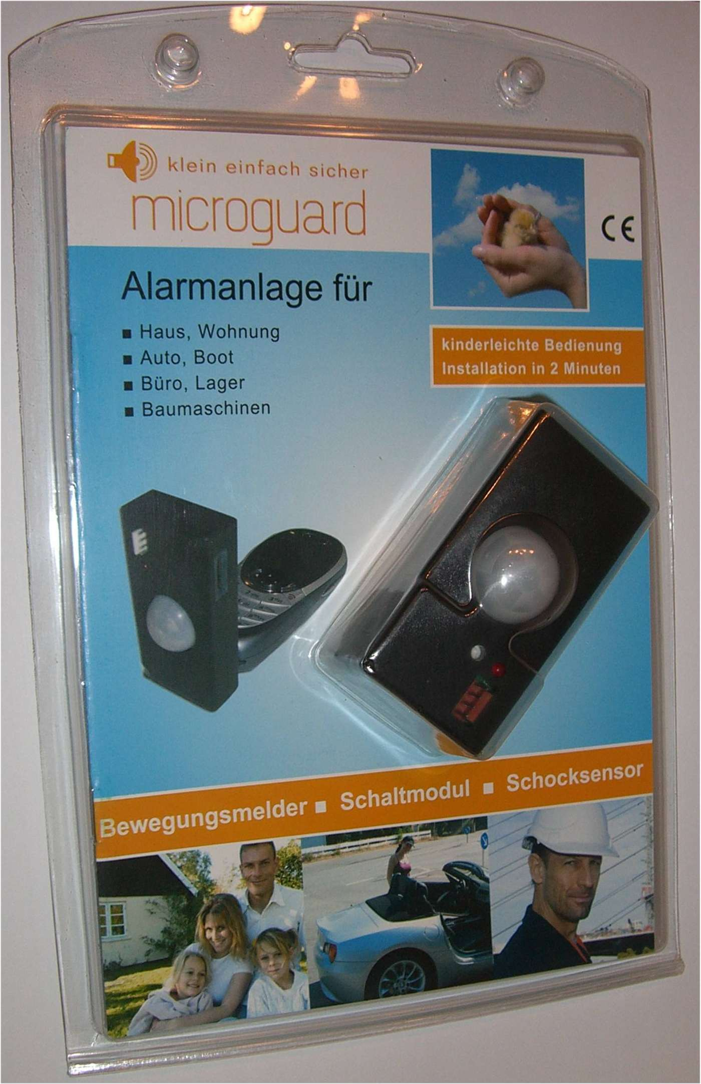 alarm alarmanlage handy anruf sms garage ohne strom ebay. Black Bedroom Furniture Sets. Home Design Ideas